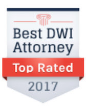 Peter H. Tilem, Ranked on a 2017 Top DWI Attorneys List